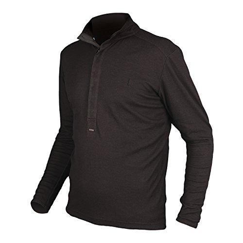 Endura Urban Coolmax Merino Long Sleeve Cycling Jersey Black, ()