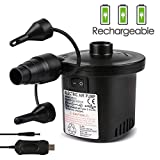 Deeplee Rechargeable Air Pump, Portable Electric