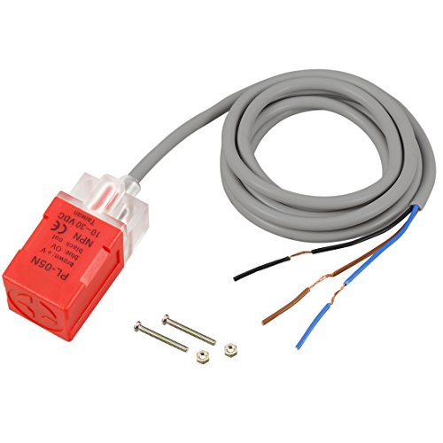 uxcell PL-05N DC 10-30V 200mA NPN NO 5mm Inductive Proximity Sensor Detection Switch