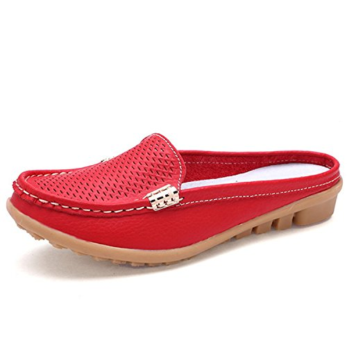 On Shoes Red Shoes Slippers Flops Sandals Comfortable Outs Leisure Flip Women Leroyca Slip Cut xATgaw