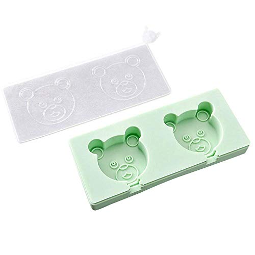 1 piece Silicone Popsicle Mold Frozen Ice Lolly Mould Tray Pan Ice Cream Maker Holder Frozen Ice Mould with cover H13