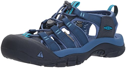 Keen Women's Newport ECO-W Sandal Victoria/Dress Blues 6 M US