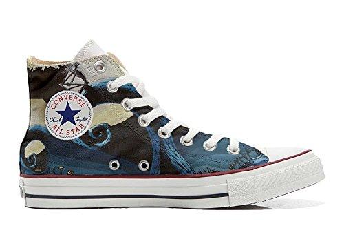 Artisanal Star produit Art Italien Chaussures Abstract Hi All Converse Et Coutume Unisex Sneaker Imprimés Personnalisé ZUU7SH