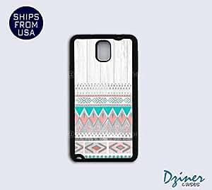 Galaxy Note 3 Case - Wood Aztec Print