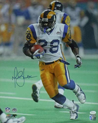 Signed Marshall Faulk Photograph - Los Angeles 16x20 19022 PF - JSA Certified - Autographed NFL Photos