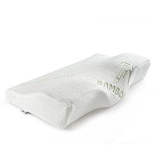 Adokoo 人間工学設計 頸椎 首 頭を支える健康枕 低反発ピロー いびき防止 寝返り 頸椎サポート安眠枕 ヘルスケア枕 洗える 通気性まくら