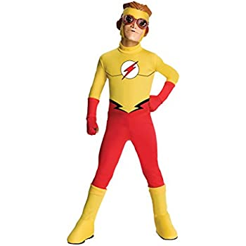 Rubie's Costume Young Justice Flash Child Costume, Small