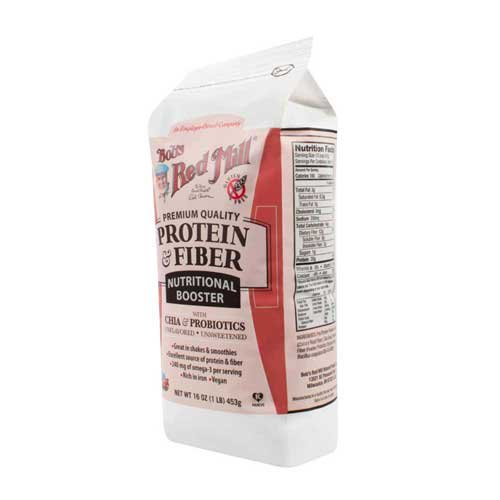 Price comparison product image Bobs Red Mill Protein and Fiber Nutritional Booster, 16 Ounce -- 4 per case.