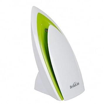 Broadlink a1 e-air Detector de calidad del aire filtro de humedad Pruebas del aire PM2,5 Mando a Distancia por WiFi/infrarrojos Sistema de automatización ...