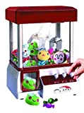 Etna The Claw Toy Grabber Machine with Sounds and Animal Plush - Features Electronic Claw Toy Grabber Machine, Animation, 4 Animal Plush & Authentic Arcade Sounds for Exciting Play