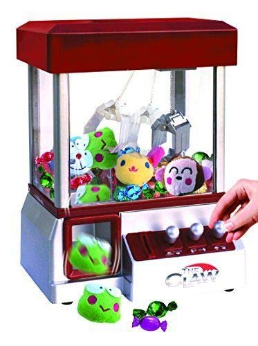 Etna The Claw Toy Grabber Machine with Sounds and Animal Plush - Features Electronic Claw Toy Grabber Machine, Animation, 4 Animal Plush & Authentic Arcade Sounds for Exciting Play ()