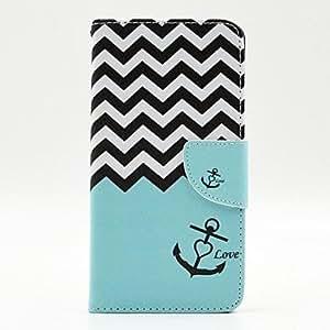 WQQ Teléfono Móvil Samsung - Carcasas de Cuerpo Completo - Gráfico/Diseño Especial - para Samsung Galaxia A7 Cuero PU )