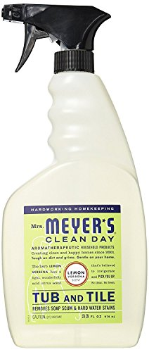 Mrs. Meyer's Tub and Tile Cleaner, Lemon Verbena 33 Fluid Ounce