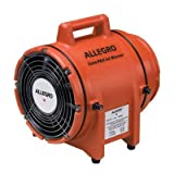 Allegro Industries 9533 COM-PAX-IAL 115 V 3 A 1/3 hp 831 CFM Polyethylene DC SubmersibleAC Explosion Proof Blower Without Canister, English, 27.1518 fl. oz., Plastic, 14'' x 32'' x 15''