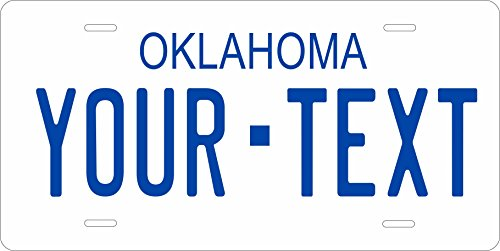 Oklahoma 1979 Personalized Tag Vehicle Car Moped Bike Bicycle Motorcycle Auto License Plate