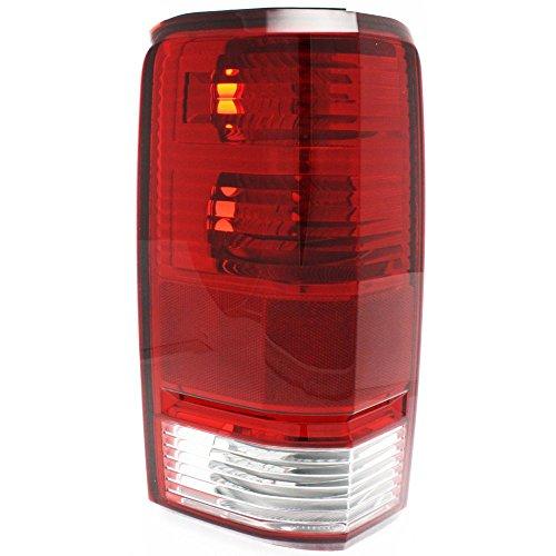 Tail Light for Dodge Nitro 07-11 Lens and Housing Left Side
