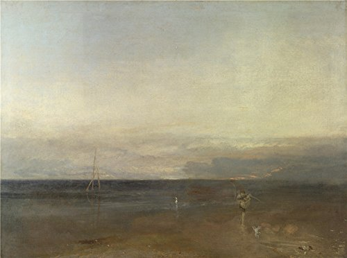 [Oil Painting 'Joseph Mallord William Turner The Evening Star', 16 x 22 inch / 41 x 55 cm , on High Definition HD canvas prints is for Gifts And Hallway, Laundry Room And Powder Room Decoration,] (Plastic Surgery Costume Makeup)