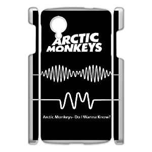Printed Cover Protector Wagwh Arctic Monkeys For Google Nexus 5 Cell Phone Case Unique Design Cases