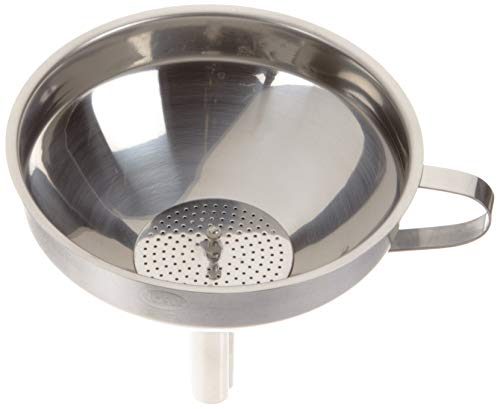 (Rösle Gastro Funnel, Removable Sieve, for the Kitchen, Diameter: 12 cm, Conical, 24098)
