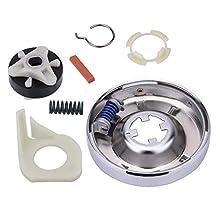 Heavy Duty 285753A Motor Coupling Kit 285785 Washer Clutch Kit For Whirlpool Kenmore Sears Roper Estate 285331, 3351342, 3946794, 3951311