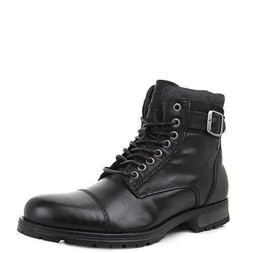 Jack & Jones - JFW Albany Warm Leather Boot - Black (Schwarz)