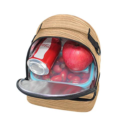 con almuerzo para Bandolera correa picnic ajustable para doble BqaEwt8