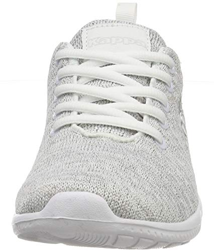 l´grey Kappa Grau white 1410 Eu Cellus Oc adulto 46 Sneaker Unisex wBqxRYAB4
