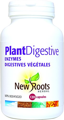 Amazon.com: New Roots Herbal Plant Digestive ENZ, 120 Count: Health ...