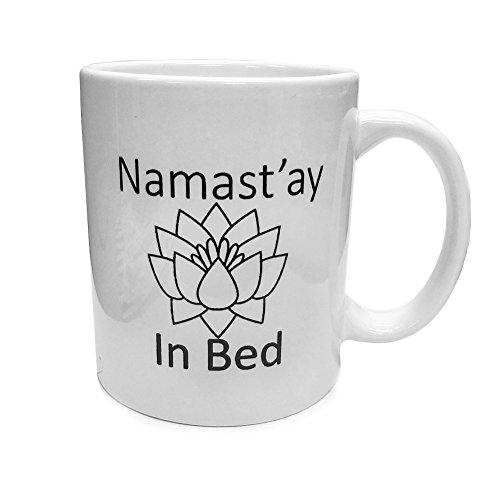 Funny Mug Namastay Birthday Coworkers