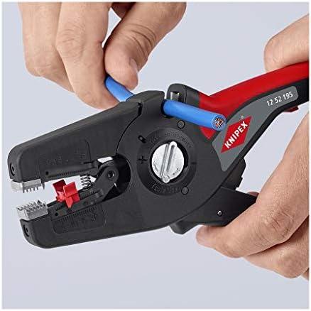 Knipex PreciStrip 16 1252195SB Pelacables autom/ático 195 mm, 0,08-16 mm