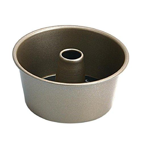 - Naladoo Classic Nonstick Round Hollow Chiffon Bakeware Mold Carbon Steel Fluted Food Cake Baking Pan Tool