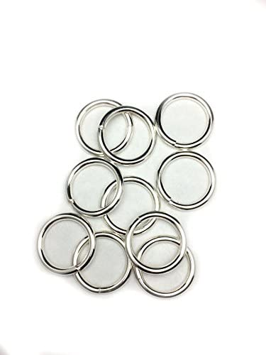 Sterling Silver Round Oval Open Jump Ring Regular Heavy  Wire Many Size