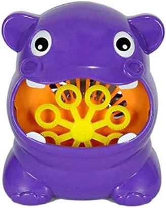 hapler シャボン玉製造機 自動泡吹くおもちゃ バブルマシン カバ カエル 電動シャボン玉 シャボン玉製造機 水遊び 子供入浴 おもちゃ お風呂用おもちゃ パーティー用品 夏休み