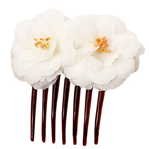 Landscap Wedding Hair Comb Bridal Accessories,Ladies Flower Accessories Hairpin Jewelry For Brides And Bridesmaids -