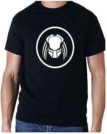 Predator Logo 80s Movie Black T-Shirt