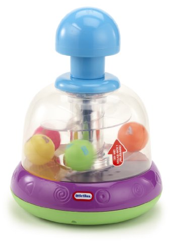 Lights n' Sounds Spinning Top- Purple/ Green by Little Tikes (Image #1)
