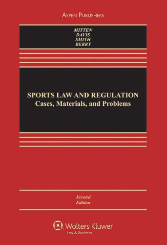 Sports Law and Regulation 2e