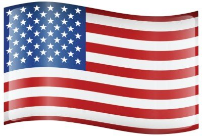 American Flag Car Sign Magnet Car Magnetic Door Sign