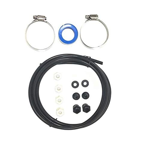 Southeastern Swimming Pool Offline Chlorinator Hose Tubing Connection Kit w/Saddle Connectors Clamps ()