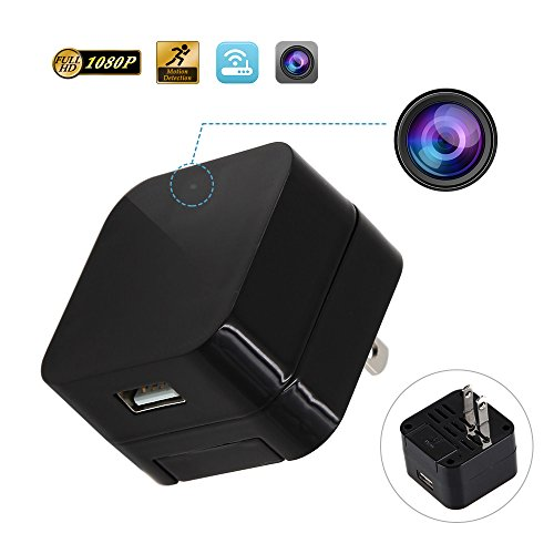 DEGOLLE Wireless spy camera wall charger Adapter 1080P Usb Hidden Camera Wifi Mini Nanny Camera Home Security