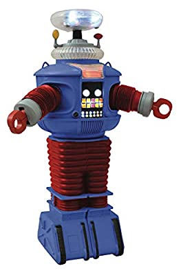 DIAMOND SELECT TOYS Lost in Space: Electronic Lights & Sounds Retro B-9 Robot