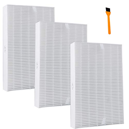 Hongfa HPA300 Filters for Honeywell, HRF-R3 True HEPA Replacement Filter for Honeywell HPA200 HPA-090, HPA-100 Remover (Hpa Series)