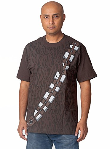 Star Wars I Am Chewbacca Costume T-shirt (Large,Brown) (Star Wars Chewbacca Costume)