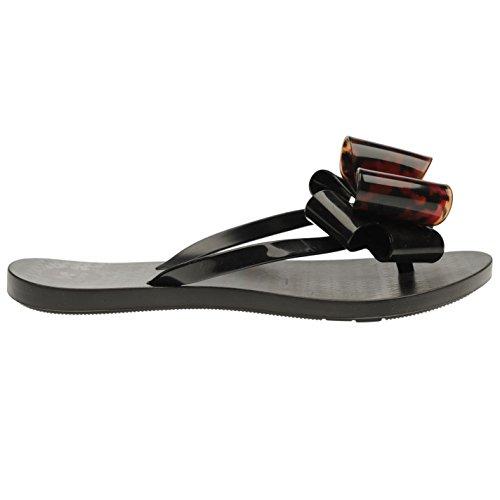 Zaxy Mujer Chanclas Pantuflas Zapatillas Zapatos Calzado Casual Negro