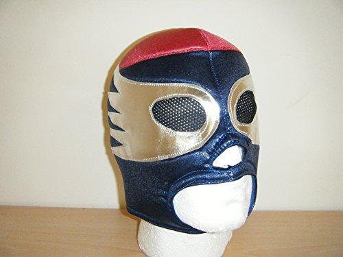 Wrestling Masks Uk Owen Hart Blue Blazer Style Head Fancy Dress Costume Mask Wrestling Wwe Cosplay by Wrestling