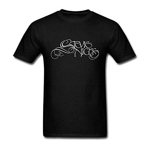 COP-Tshirt Men's Black Short Sleeve Annehoney Stevie Nicks 2016 Fashion T Shirt (Black T-shirt Cops)