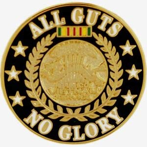 """All Guts No Glory Hat Pin 1"""" by HighQ Store"""