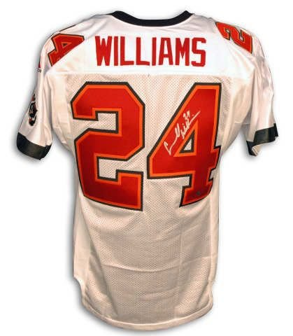 Williams White Nfl Jersey - 4