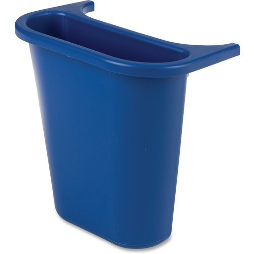 (Rubbermaid 295073 Recycling Bin, Saddle Basket, 7-1/4