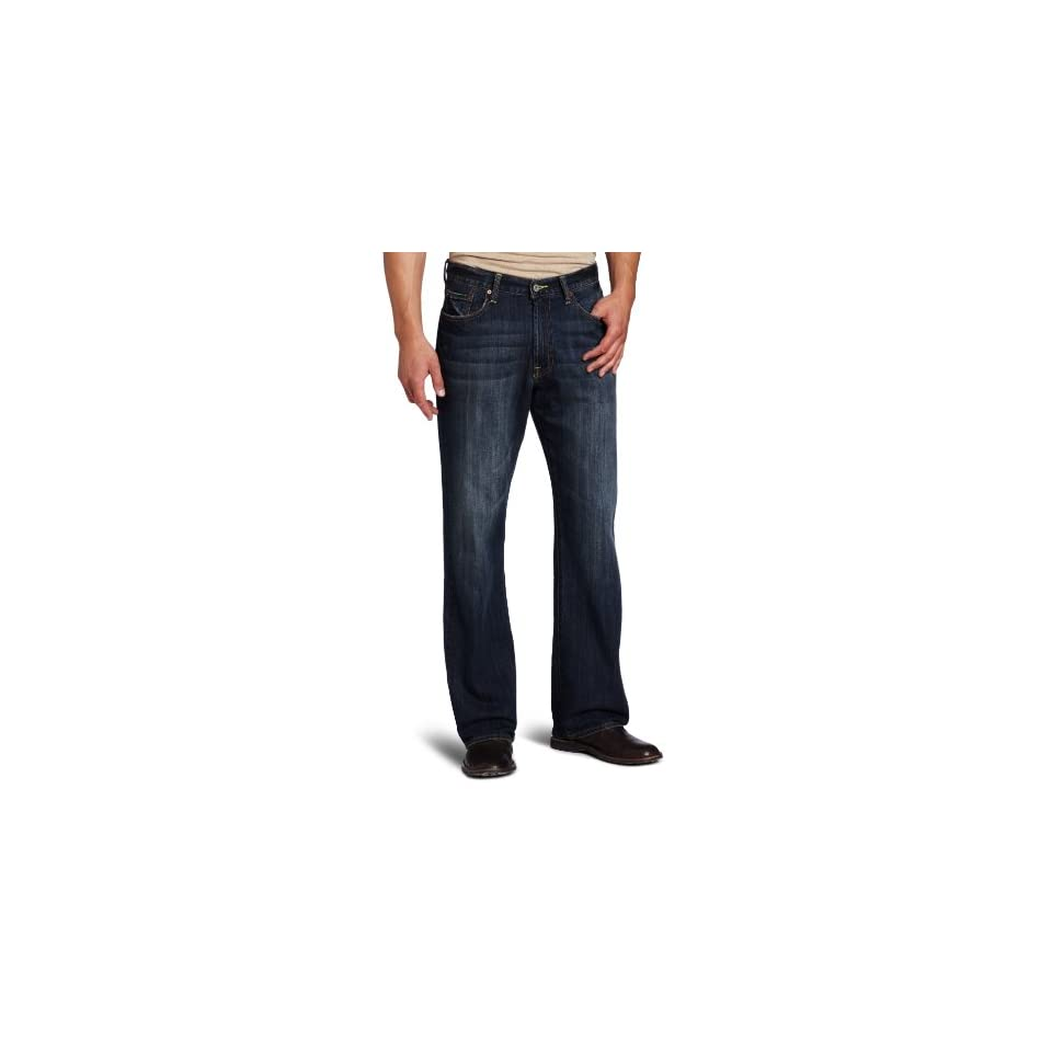 Lucky Brand Mens 181 Relaxed Straight Leg Jean in Ol Downtown Hipster
